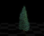 animated fake 3d Tree