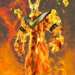 fire demon final simulation