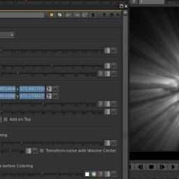 volume rays in Nuke -stereo approved