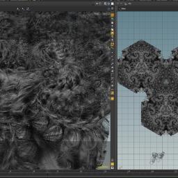 golden ratio hexa fractals