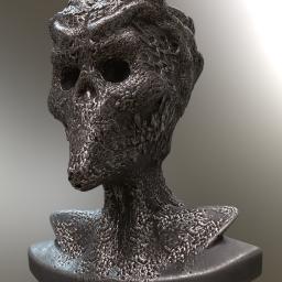 alien Sculptur